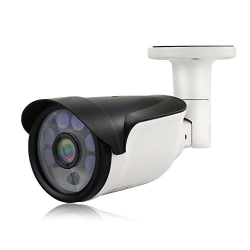 XHZNDZ Cámara de Seguridad, cámaras de vigilancia doméstica 1080P HD Night Vision, cámara CCTV Bullet Resistente a la Intemperie, cámaras IP de detección de Movimiento para Interiores al Aire Libre