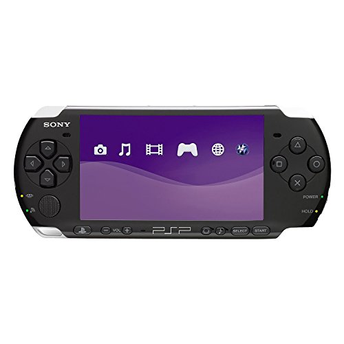 New Sony Playstation Portable PSP 3000 Series Handheld Gaming Console System (Renewed) (Black)