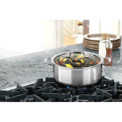 Calphalon Triply Stainless Steel 5 Quart Dutch Oven