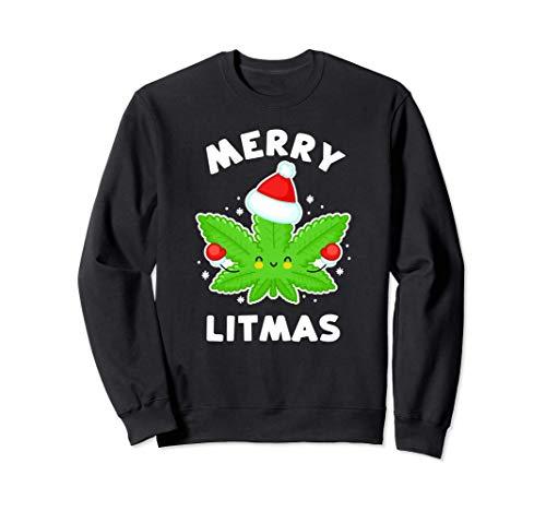 Merry Litmas - Divertente pentola natalizia Felpa