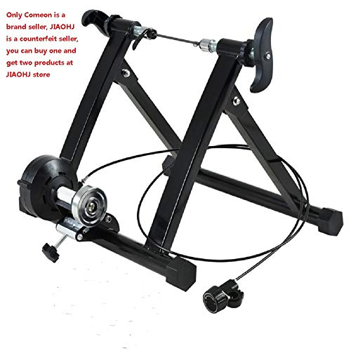 Comeon Bicycle Trainer Mountain Road Bike Portable Foldable Bicycle Trainer Indoor Bike Fitness Rack 2428 inch mt02wired