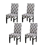 Dining Chair Cover Seat Protector Super Fit Slipcover Stretch Removable Washable...