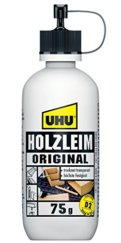 Uhu 48560 - Holzleim Original, Flasche, 75 g
