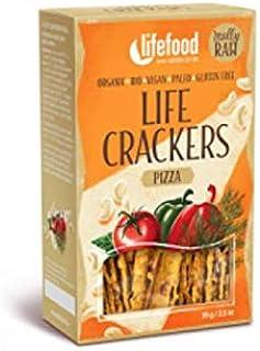 Life Food Organic Life Crackers Raw Pizza, 70g