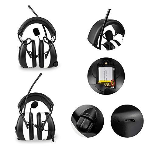 3M BLUETOOTH SNR 24db Digital Radio Gehörschutz Kopfhörer - 5