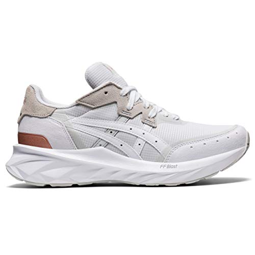 ASICS Damen Tarther Blast Sneaker, White/White, 39.5 EU