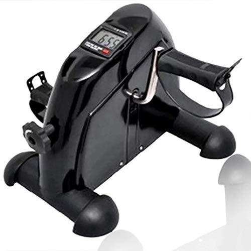 Mini-hometrainer onder de bureaufiets, pedaaltrainer met lcd-monitor voor spiergroepoefening Hulp bij het bouwen van een perfect figuur