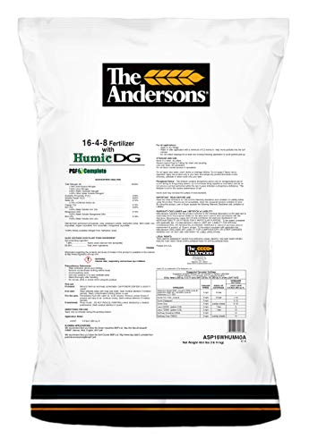 The Andersons PGF Complete 16-4-8 Fertilizer with Humic DG 5,000 sq.ft.