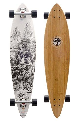 Arbor Skate Board–Longboard Pack Fish Bamboo–Talla: One Size
