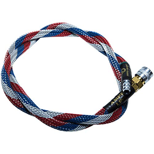 AMPED Airsoft Amped Line   Heavy Weave for PolarStar, Wolverine, and Redline HPA Units 36 Inch (Recommended) Patriot Heavy