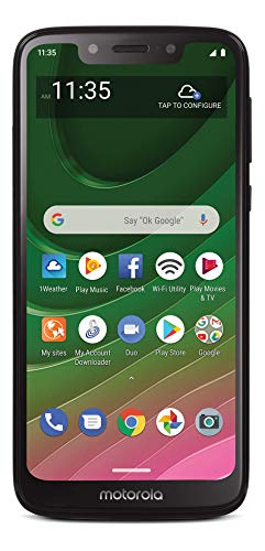 Tracfone Motorola Moto G7 Optimo 4G LTE Prepaid Smartphone (Locked) - Black - 32GB - SIM Card Included - CDMA -  TFMTXT1952DCP