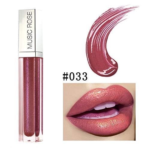Vaycally Neue Make-up, Neue Lipgloss Make-up Matte Lippenstift langlebige wasserdichte flüssigkeit,...