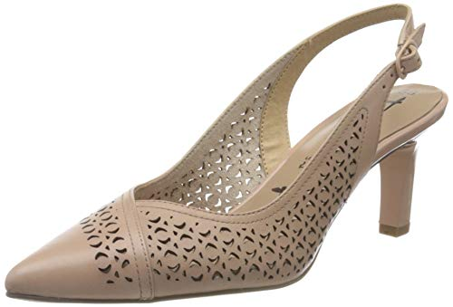 Tamaris Damen 1-1-29610-24 Slingback Pumps, Pink (Rose 521), 37 EU