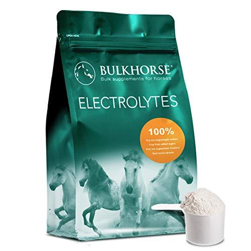BulkHorse Elektrolyte | Premium-QUALITÄT für WARMES Wetter und intensives Training | Muskeln, Energie UND KNOCHENBILDUNG | 1000 Gramm