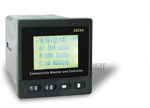 Gowe Online - Controlador de monitor de resistencia de conductividad (0-2000 uScm, error 1% F.S RS-232C, salida de alarma)