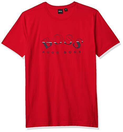 Hugo Boss BOSS Men's T-Shirt, Deep Cherry Red, XL