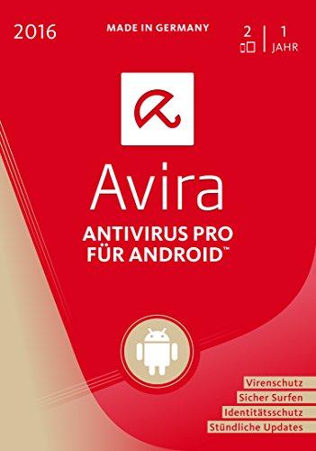 Avira AntiVirus Pro Android 2016 - 2 Geräte / 1 Jahr