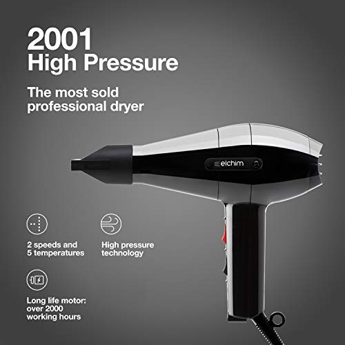 Elchim 2001 Hair Dryer Specs