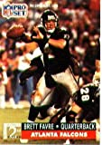 1991 Pro Set Brett Favre Rookie Football Card #762 - Shipped In Protective Display Case!