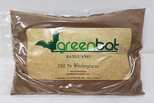 GREENBAT Beutel 1 kg pulver NPK 7-6-3 Biologische Düngemittelmischung aus Fledermaus Guano, Blutmehl und Rinderhörnern.