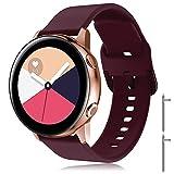 Supore Correa Galaxy Watch Active 40mm, Correas de Silicona de 20...
