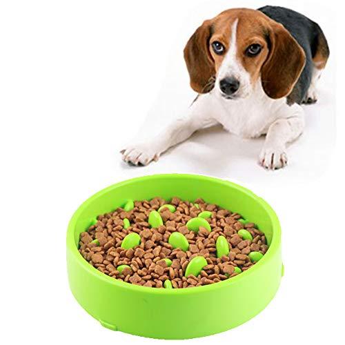 Slow Feeder Hond Kom Puppy Kommen Puppy Voedsel Nat Kom Niet Giftig Puzzel Kom Kat Feeder Kom Puzzel Kommen Voor Honden Bloat Stop Hond Kom green