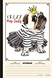 Crazy Pug Lady Notebook: A Notebook, Journal Or Diary For True Pug Lover - 6 x 9 inches, College Ruled Lined Paper, 120 Pages