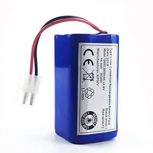 Appearanice Paquete de batería de Repuesto para aspiradora Robot Robot 14.8 V 2800 Mah para Chuwi Ilife V7 V7s Pro Robot Sweeper Blue