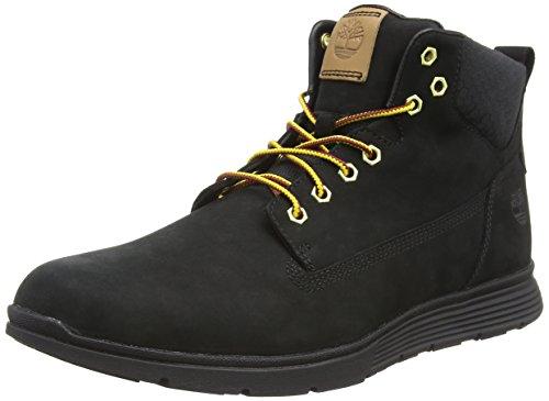 Timberland Killington Chukka, Sneakers Alte Uomo, Nero (Black Nubuck 001), 43 EU