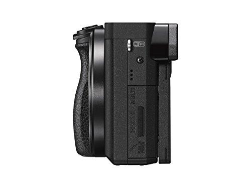 ソニーミラーレス一眼α6300パワーズームレンズキットEPZ16-50mmF3.5-5.6OSSブラックILCE-6300LB