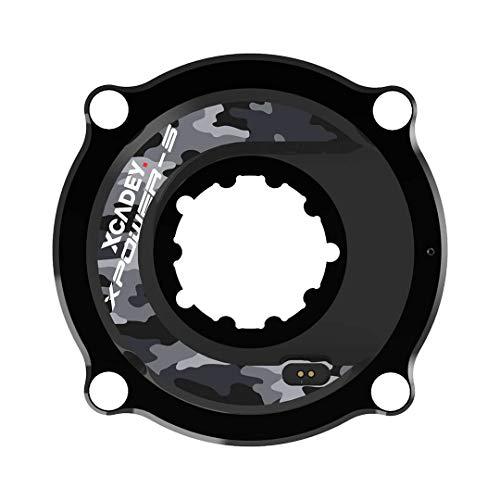 XCADEY - Potenciómetro araña para bicicleta Sram, Shimano, Cannondale, rotor, Race Face, Easton, Specialized, compatible con ANT+/Bluetooth, SRAM 3-Bolt 104BCD