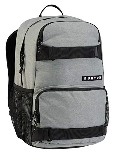 Burton Treble Yell Mochila, Unisex Adulto, (Gris Heather), Talla única