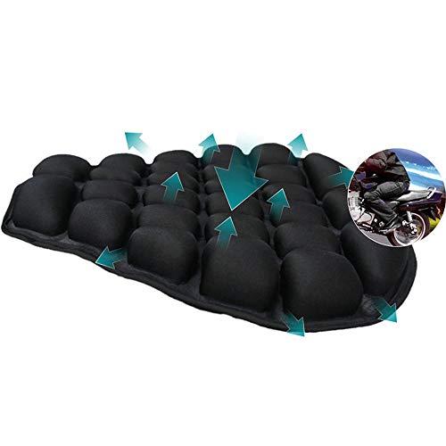 JUAN Cushion Motorfiets luchtzitkussen, drukontlasting motorfiets luchtzitkussen voor Touring en Cruiser zadels