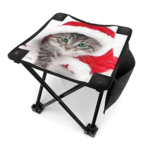 End Nazi Tabouret de Camping chaises Pliantes noël Chat Mignon Robe de noël Cosplay siège de Chaise Portable