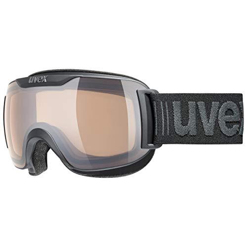 uvex Unisex– Erwachsene, downhill 2000 S V Skibrille, black mat, one size