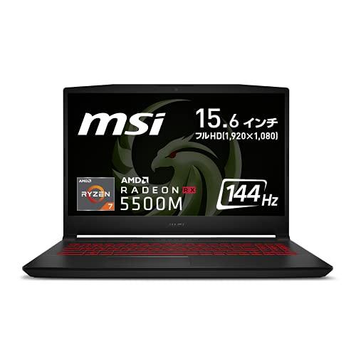 【AMD最新Ryzen7 5800H搭載】MSIゲーミングノートPC Bravo15 Ryzen7 RX5500M/15.6FHD/144Hz/16GB/512GB/Bra...