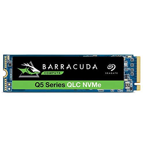 Seagate Barracuda Q5 2TB Internal SSD - M.2 NVMe PCIe Gen3 ×4, 3D QLC for Desktop or Laptop, 1-Year...