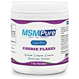 Kala Health MSMPure Coarse Powder Flakes, Organic Sulfur Crystals, 99.9% Pure Distilled MSM Supplement, Made in The USA, 1lb
