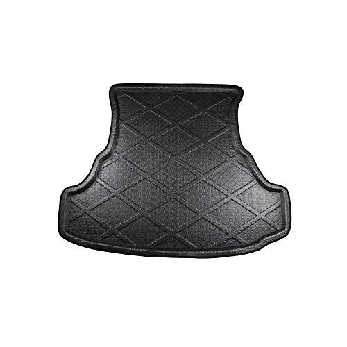 NADAENTA Heckkoffer Tray Boot Liner Cargo Bodenmatte, für Chr-ysler 300C, PE + Eva Foam Plastic Anti-Dirty, Allwetter rutschfest, Schwarz Rear Trunk Mat