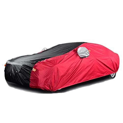 LZL Cubierta de automóvil de protección UV a Prueba de Viento a Prueba de Polvo Resistente a la Resistencia al Aire Libre Universal para el sedán hasta 208 ''