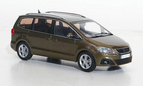 Seat Alhambra, met.-braun, 2010, Modellauto, Fertigmodell, Seat 1:43