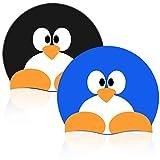 CYSJ 2 Gorros Niños Gorros de natación, Impermeable Sombrero Niños Silicona Gorra de Natación para Niños Niñas Nadando Principiante Dibujos Animados de Animales Patrón