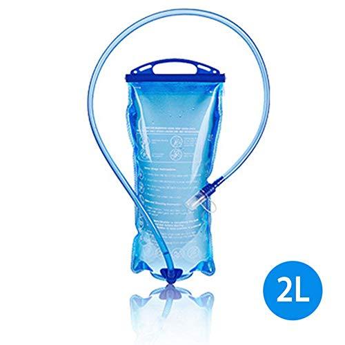 Ablerfly Réservoir d'eau de 2 litres pour la vessie d'hydratation, Pack d'hydratation amélioré de la vessie étanche à l'eau pour la Course à Pied