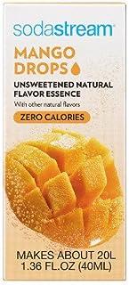 SodaStream USA 1421558010 Flavor Fruit Drops, Mango, 40mL - Quantity 6