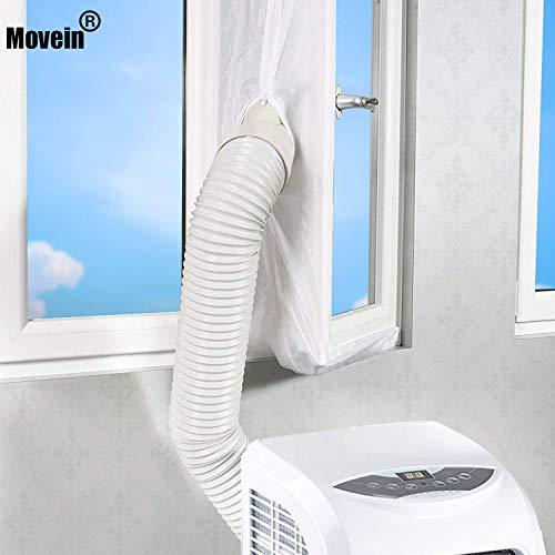 Air Lock 400cm Fensterabdichtung Für Mobile Klimageräte, Dichtung Baffle,Hot Air Stop, Airlock Window Seal Geeignet Für Mobiles Klimagerät Und Ablufttrockner, Dachfenster.