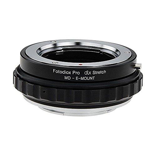 Fotodiox DLX Stretch Adaptador de montura de lente Minolta Rokkor (SR/MD/MC) compatible...