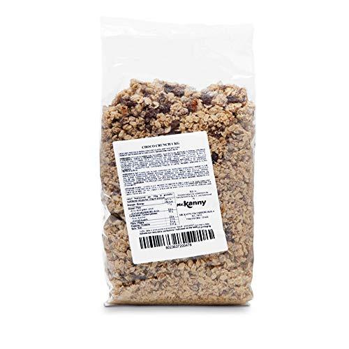 mr.Kanny - Choco Crunch, Muesli croccante al cioccolato per colazione, 8 confezioni da 1kg [8kg] per servizi di ristorazione Hotel e B&B
