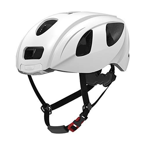 Helm ZWRY Fiets Achterlicht Helm Buiten Waarschuwingslampje Slimme motorhelm