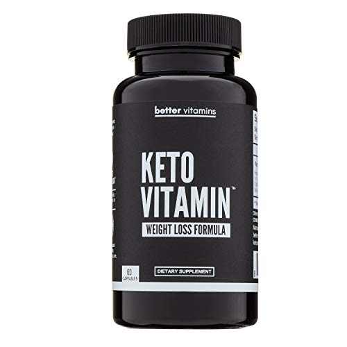 Keto Vitamin - Advanced Ketogenic Supplement, Optimize Energy Levels & Ketosis - Contains Raspberry Ketones, Caffeine and More
