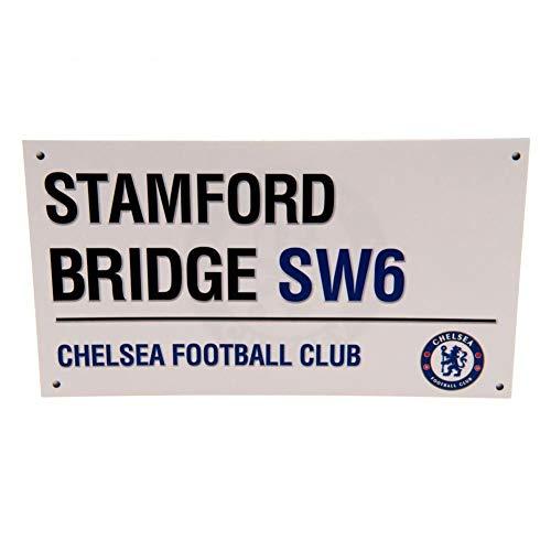 Chelsea F.C. Birthday Card Street Sign